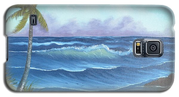 Galaxy S5 Case featuring the painting Blowing In The Wind by Mary Scott