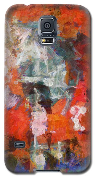 Galaxy S5 Case featuring the digital art Blows Away In The Wind by Joe Misrasi