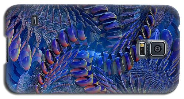 Blue 3 Galaxy S5 Case