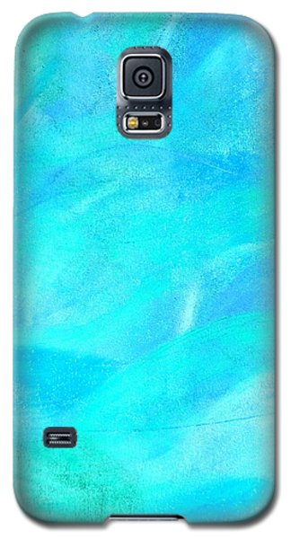 Blue And Aqua Abstract Galaxy S5 Case