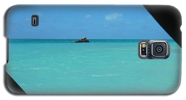 Galaxy S5 Case featuring the photograph Blue And Green by Photographic Arts And Design Studio