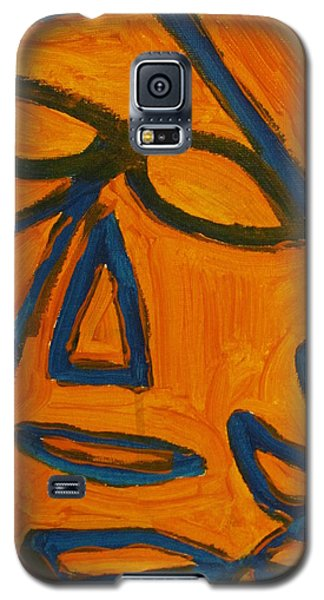 Blue And Orange Galaxy S5 Case by Shea Holliman