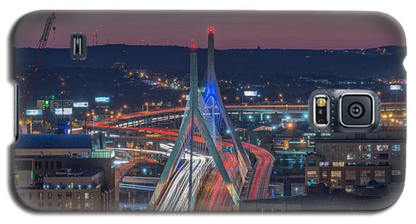 Blue And Red Zakim Galaxy S5 Case