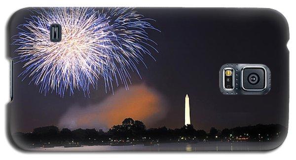 Blue And White O'er Washington D.c. Galaxy S5 Case