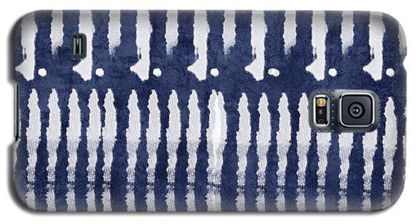 Blue And White Shibori Design Galaxy S5 Case