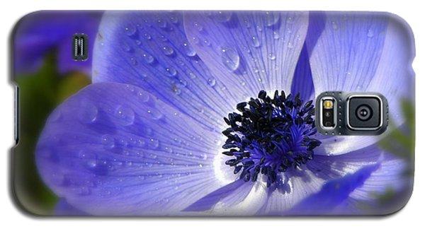 Blue Anemone Galaxy S5 Case