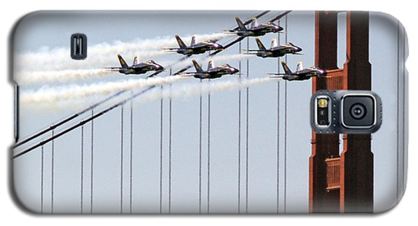 Blue Angels And The Bridge Galaxy S5 Case