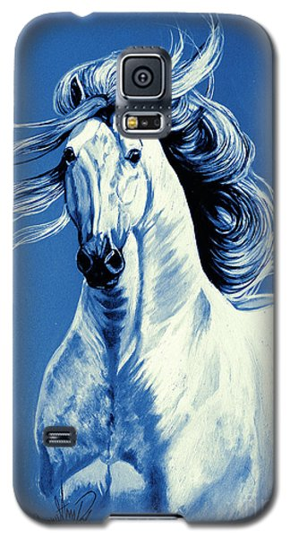 Blue Attitude Galaxy S5 Case