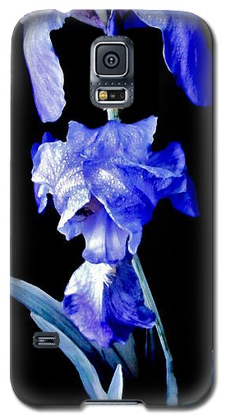 Blue Bearded Rhizomatous Irises Galaxy S5 Case