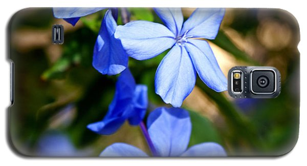 Galaxy S5 Case featuring the photograph Blue Beauty by Jean Haynes