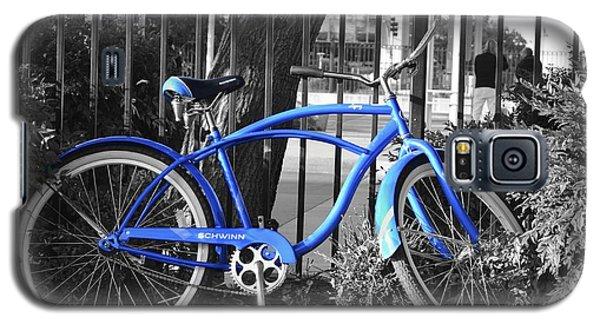 Blue Bike Galaxy S5 Case by Alex King