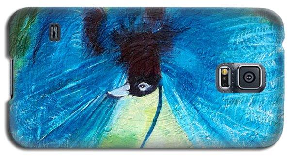 Blue Bird Of Paradise Galaxy S5 Case