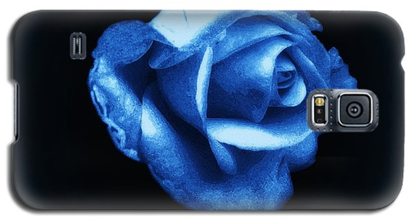 Blue Blue Rose Galaxy S5 Case
