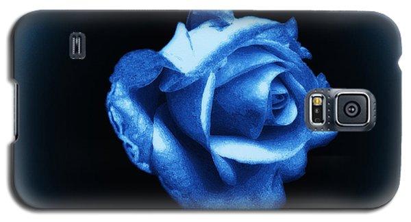 Blue Blue Rose Galaxy S5 Case