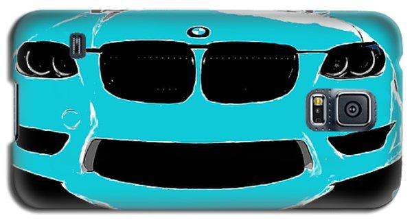 Blue Bmw Galaxy S5 Case by J Anthony