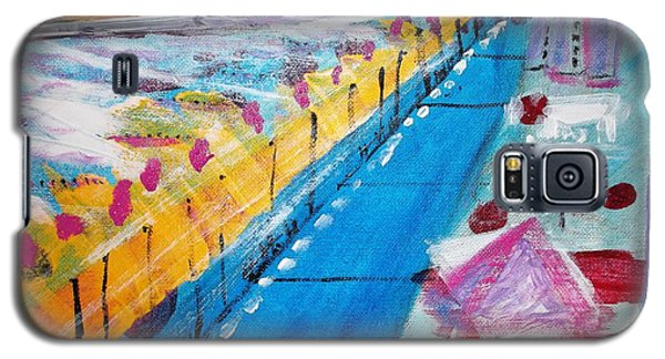 Blue Boardwalk Galaxy S5 Case