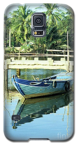 Blue Boat 02 Galaxy S5 Case