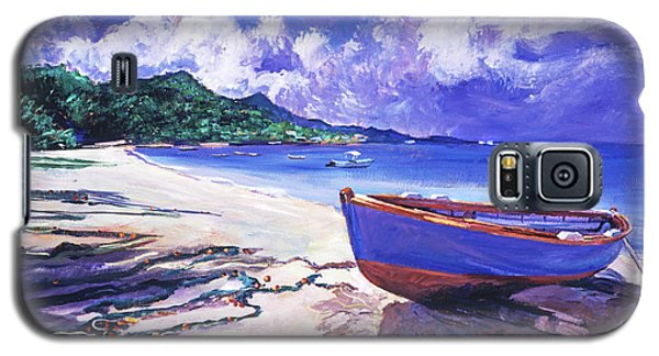 Blue Boat And Fishnets Galaxy S5 Case