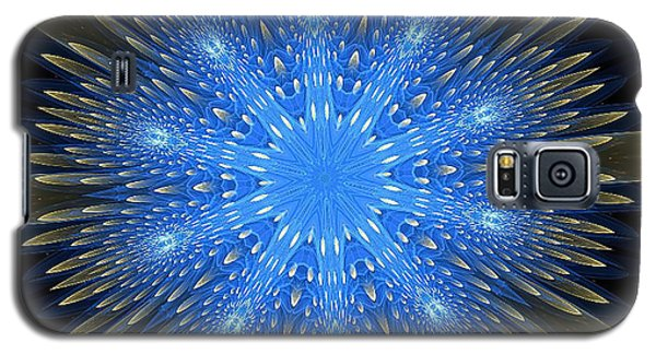 Blue Boldness Mandala Galaxy S5 Case