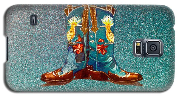 Blue Boots Galaxy S5 Case by Mayhem Mediums