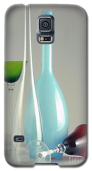 Galaxy S5 Case featuring the photograph Blue Bottle #2 by Elf Evans