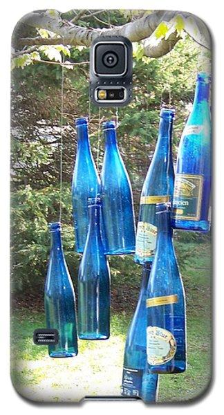 Blue Bottle Tree Galaxy S5 Case