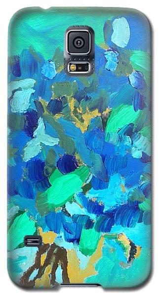 Blue Bouquet Galaxy S5 Case by Harry Hartshorne Jr