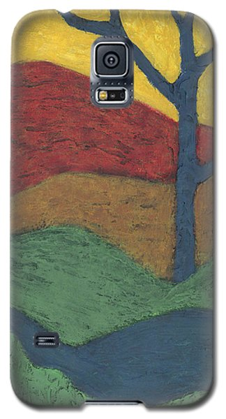 Blue Branches Galaxy S5 Case