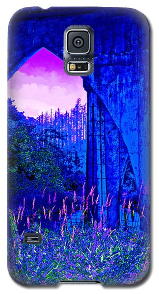 Galaxy S5 Case featuring the photograph Blue Bridge by Adria Trail