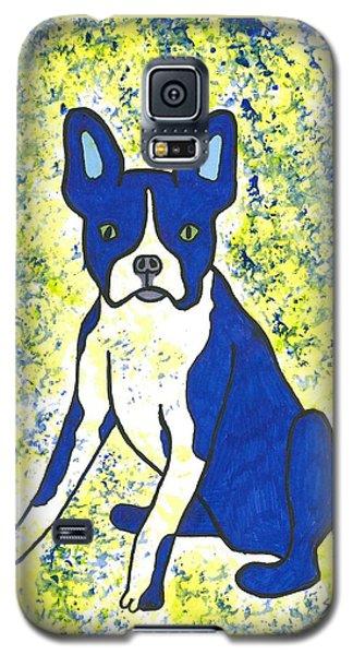 Blue Bulldog Galaxy S5 Case by Susie Weber