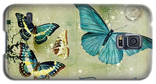 Blue Butterfly - S55c01 Galaxy S5 Case