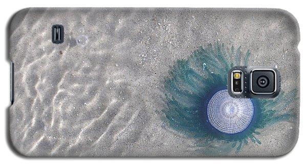 Blue Button Jellyfish Galaxy S5 Case
