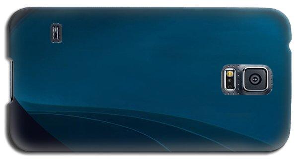 Blue  C2014 Galaxy S5 Case by Paul Ashby