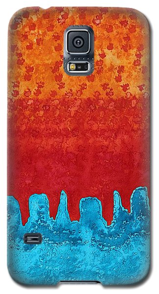Blue Canyon Original Painting Galaxy S5 Case