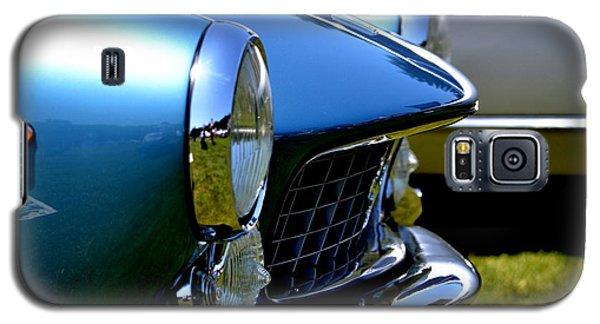Galaxy S5 Case featuring the photograph Blue Car by Dean Ferreira