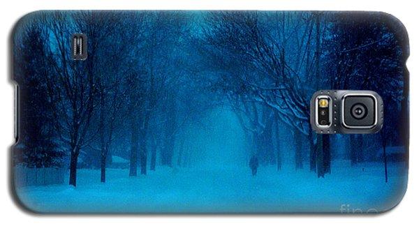 Blue Chicago Blizzard  Galaxy S5 Case