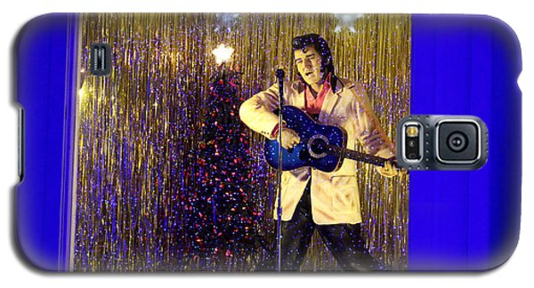Blue Christmas Without Elvis Galaxy S5 Case