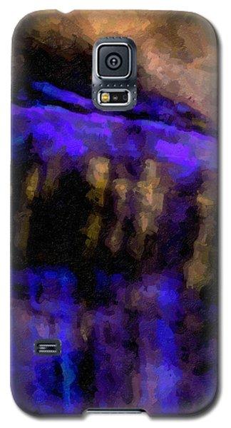 Blue Cliff Galaxy S5 Case