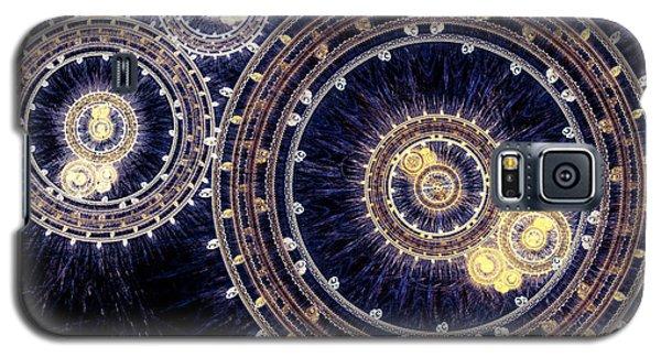 Blue Clockwork Galaxy S5 Case