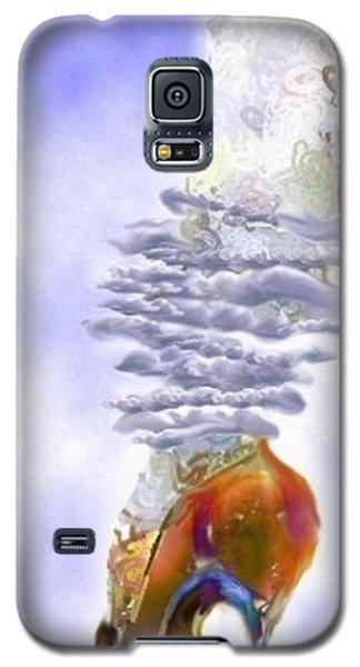 Blue Cloud Shoe Galaxy S5 Case