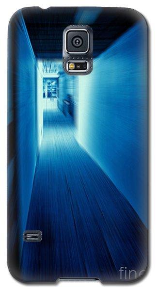 Blue Corridor Galaxy S5 Case by Craig B