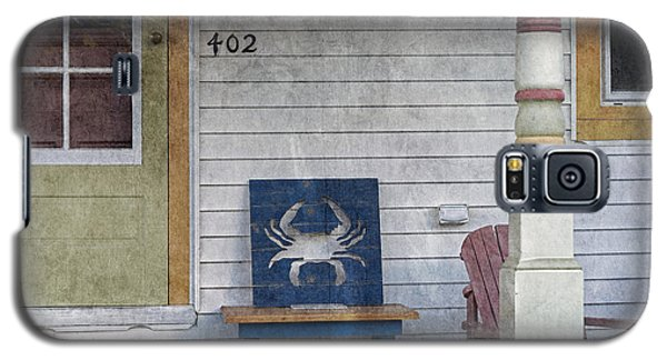 Blue Crab Chair Galaxy S5 Case by Brian Wallace