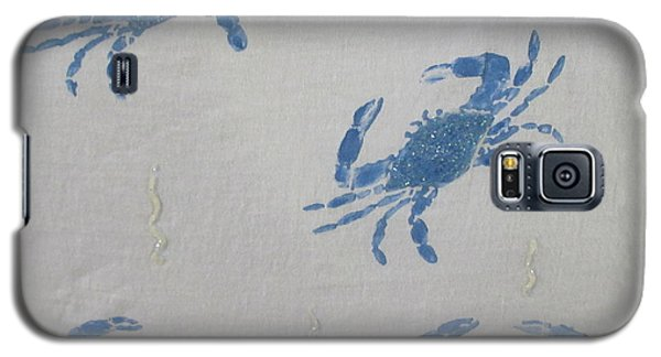 Blue Crabs On Sand Galaxy S5 Case