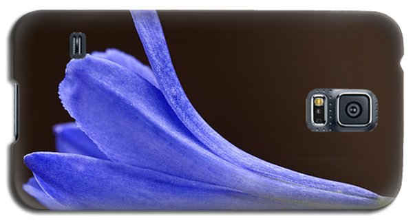 Blue Curve Galaxy S5 Case by Trevor Chriss