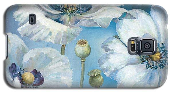 Blue Dance I Galaxy S5 Case by Lisa Audit