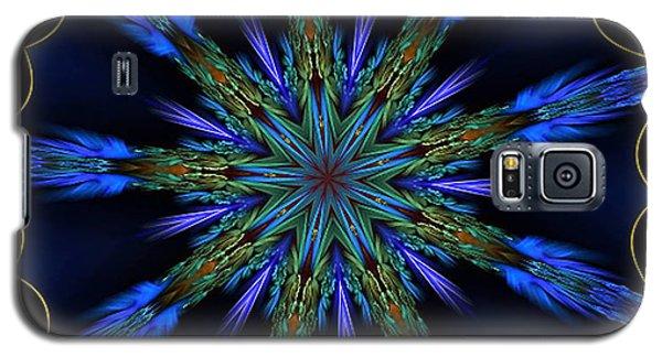 Blue Danube Kaleidoscope Galaxy S5 Case
