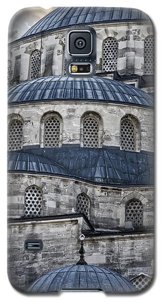 Blue Dawn Blue Mosque Galaxy S5 Case by Joan Carroll