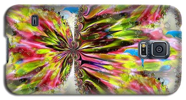 Blue Dolphin Fantasy Galaxy S5 Case by Maria Urso