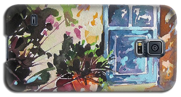 Blue Door Provence Galaxy S5 Case by Rae Andrews