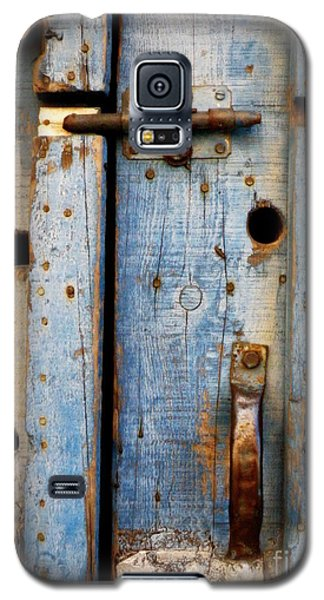 Blue Door Weathered To Perfection Galaxy S5 Case